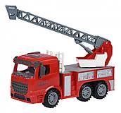Пожарная машина с лестницей Same Toy Truck, 98-616Ut, купить