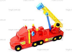 Пожарная машина с лестницей Super Truck, 36570, фото