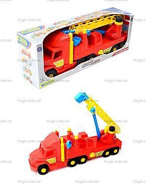 Пожарная машина с лестницей Super Truck, 36570