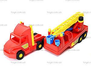 Пожарная машина с лестницей Super Truck, 36570, цена