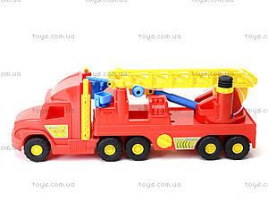 Пожарная машина с лестницей Super Truck, 36570, детские игрушки