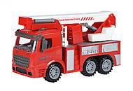 Пожарная машина с подъемным краном, 98-617Ut, фото