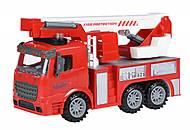 Пожарная машина с подъемным краном со светом и звуком, 98-617AUt, фото