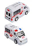 Машинка скорой помощи «Urban traffic», ST66-03, отзывы