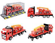 Пожарная машина для сюжетной игры, JY-8801-6, купить