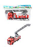 Пожарная машинка инерционная, JY-8806C, фото