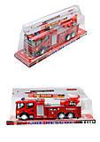 Игрушка «Пожарная машина», SH-8833, отзывы