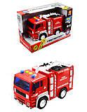 Пожарная машинка детская, WY550A, отзывы