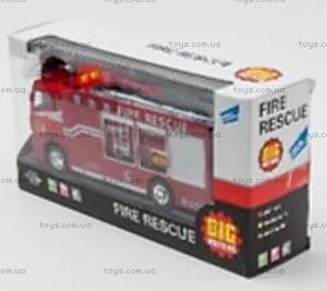 Пожарная машина, инерционная, 22990-81016, купить