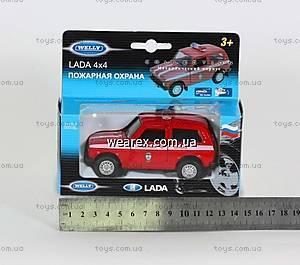 Пожарная модель Lada 4X4, 42386FS-W