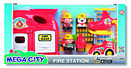 Пожарная станция Mega city, K32804, фото