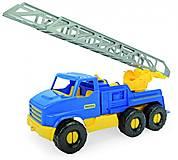 Пожарная Wader серии «City Truck», 39397, детские игрушки