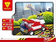 Пожарные спасатели «Пожарная машина» конструктор, 4226, фото