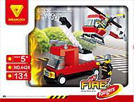 Пожарные спасатели «Пожарная техника» конструктор, 4424