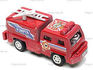 Пожарный автобус, 3988-6, фото