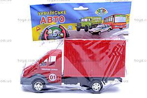 Пожарный фургон Газель, 18120, игрушки