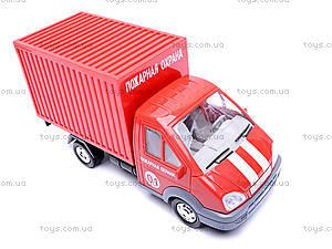 Пожарный фургон Газель, 18120, магазин игрушек
