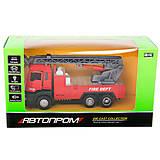 Пожарный грузовик с краном, 5002, интернет магазин22 игрушки Украина