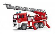 Пожарный грузовик с лестницей и водяной помпой, 02771, отзывы