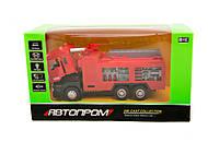 Пожарный красный грузовик, 5001, детские игрушки