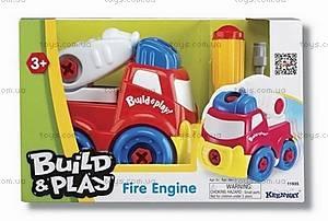 Пожарная машина «Строй и играй», K11935
