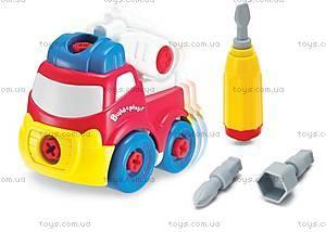 Пожарная машина «Строй и играй», K11935, купить