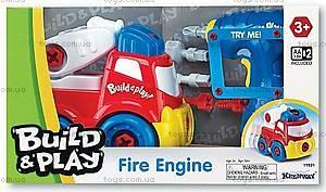 Игрушка-конструктор «Пожарная машина», K11931