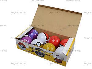 Игрушечный покебол с фигуркой Pokemon GO, BT-PG-0001, цена