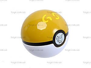 Игрушечный покебол с фигуркой Pokemon GO, BT-PG-0001, детские игрушки