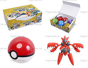 Покебол с фигуркой Pokemon GO, BT-PG-0003
