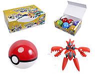 Покебол с фигуркой Pokemon GO, BT-PG-0003, купить