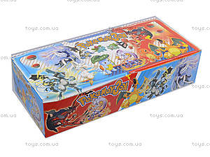 Покебол с фигуркой Pokemon 3, 8 штук, BT-PG-0011, фото