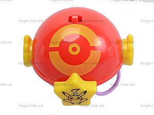 Покебол с фигуркой Pokemon 3, 8 штук, BT-PG-0011, детские игрушки