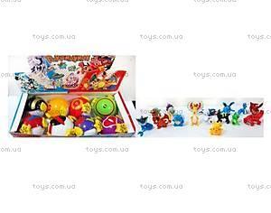 Покебол с фигуркой Pokemon 3, 8 штук, BT-PG-0011