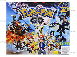 Покемоны и покебол Pokemon GO, 8 фигурок, BT-PG-0007, купить