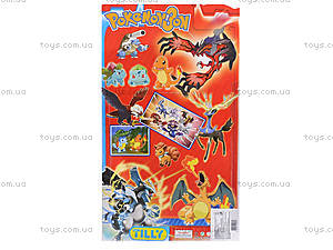 Фигурки покемонов с покеболом Pokemon, 3 фигурки, BT-PG-0010, фото