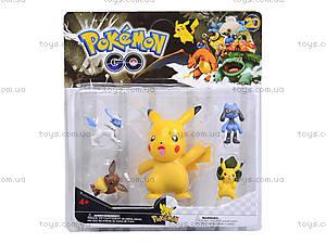Игрушечные покемоны Pokemon GO, 5 фигурок, BT-PG-0006, фото