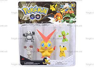 Игрушечные покемоны Pokemon GO, 5 фигурок, BT-PG-0006, отзывы