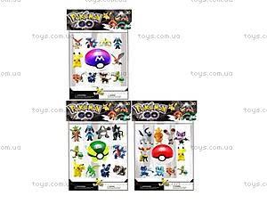 Покемоны с покеболом Pokemon GO, 10 фигурок, BT-PG-0008