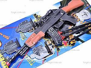 Полицейский набор автоматом и жетоном, G2013-AO, купить