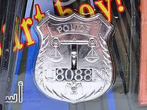 Полицейский набор автоматом и жетоном, G2013-AO, отзывы