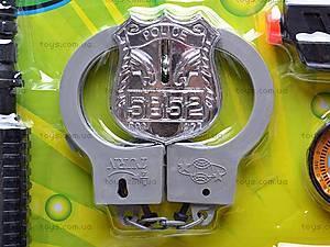 Полицейский набор Ben10, 1686-3, игрушки