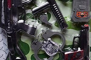 Полицейский набор для игры, 2626-4, фото