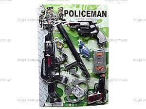 Полицейский набор для игры, 2626-4