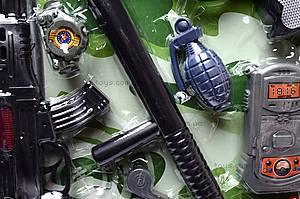 Полицейский набор для игры, 2626-4, отзывы