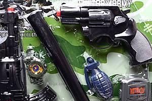 Полицейский набор для игры, 2626-4, игрушки