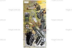 Полицейский набор, с музыкальным пистолетом, 33640, купить