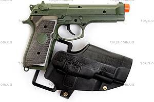 Полицейский набор, с музыкальным пистолетом, 33640, фото