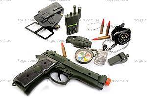 Полицейский набор, с музыкальным пистолетом, 33640