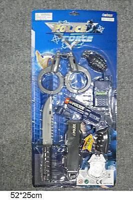 Полицейский набор, с пистолетом, 33630